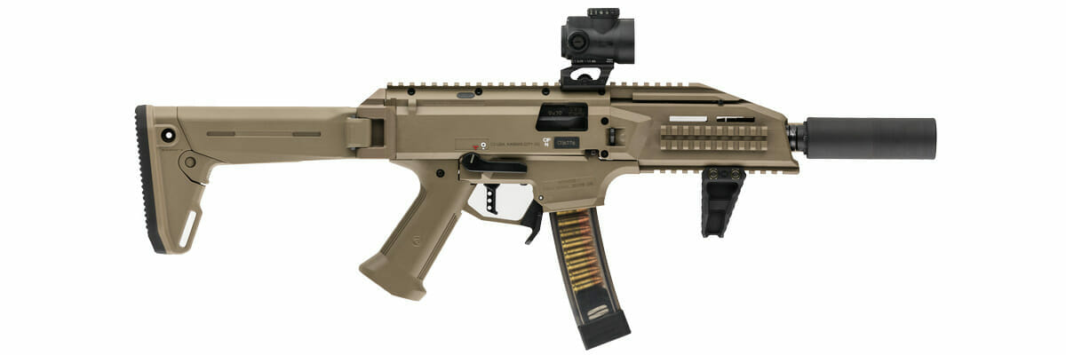 Scalarworks LEAP Trijicon MRO Mount (CZ Scorpion EVO 3 S1)